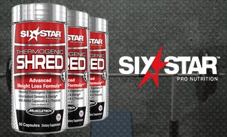 Six Star Thermogenic Shred