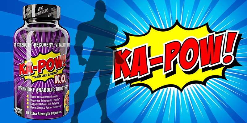KA-POW Testosterone Booster