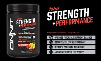 Onnit Total Strength + Performance