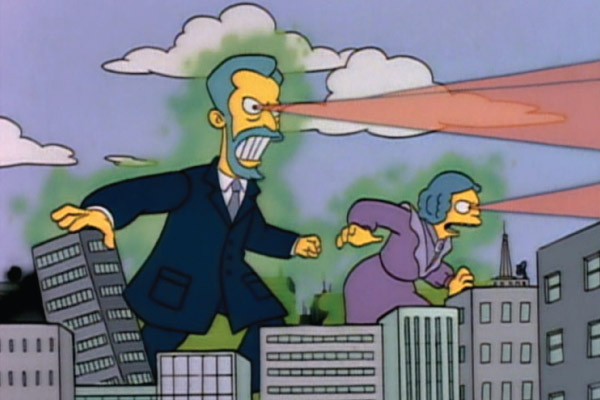 It's the Curies! We must flee!