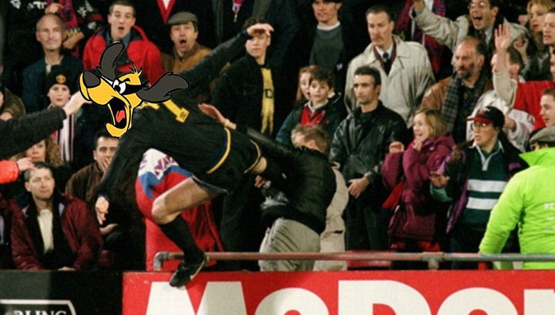 Just For Kicks: Eric Cantona Blames High T For Fan Attack